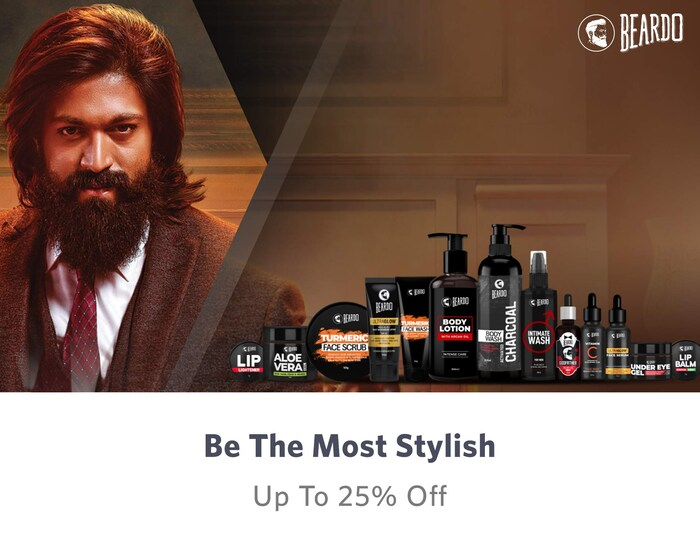 Up to 25% off on Men Personal Care | Beardo