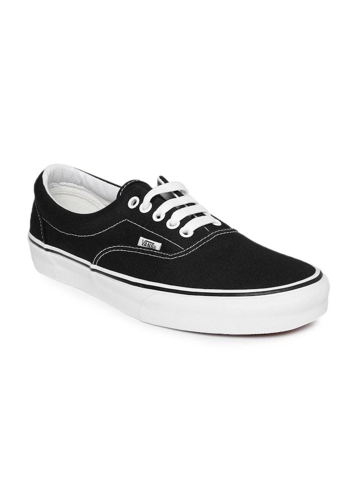 Buy Vans Unisex Black Era Casual Shoes