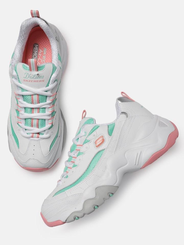 Buy Skechers Women White D'LITES 3.0