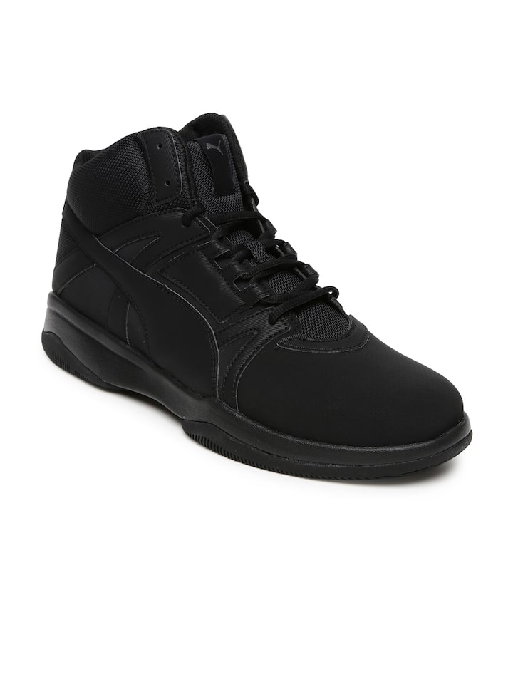 Buy PUMA Men Black Rebound Street Evo