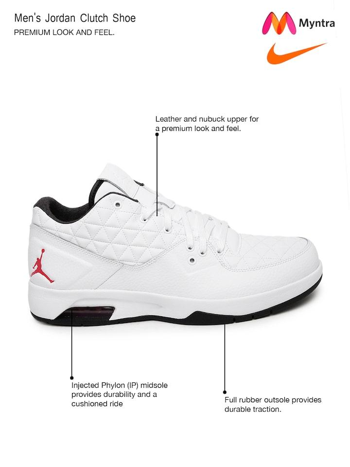 Air Jordan Leather Basketball Shoes