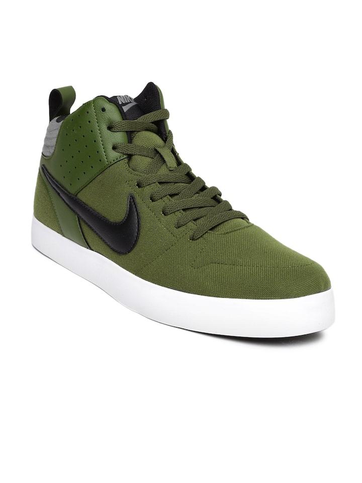 Buy Nike Men Olive Green Liteforce III