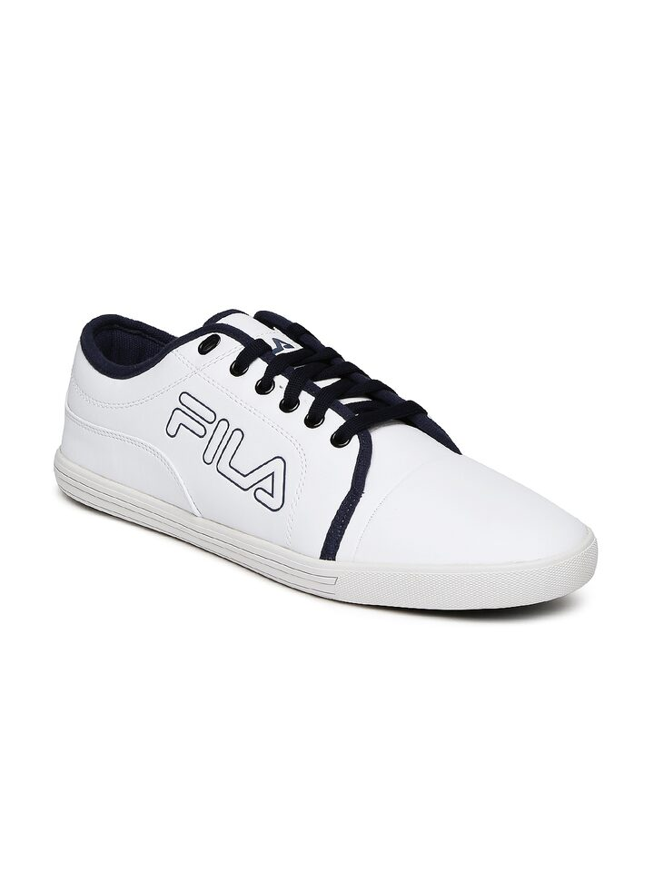Buy FILA Men White LAVADRO IV Sneakers