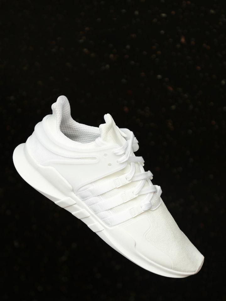 Todopoderoso Separar Haz un esfuerzo  Buy ADIDAS Originals Men White EQT Support ADV Sneakers - Casual Shoes for  Men 1945226   Myntra