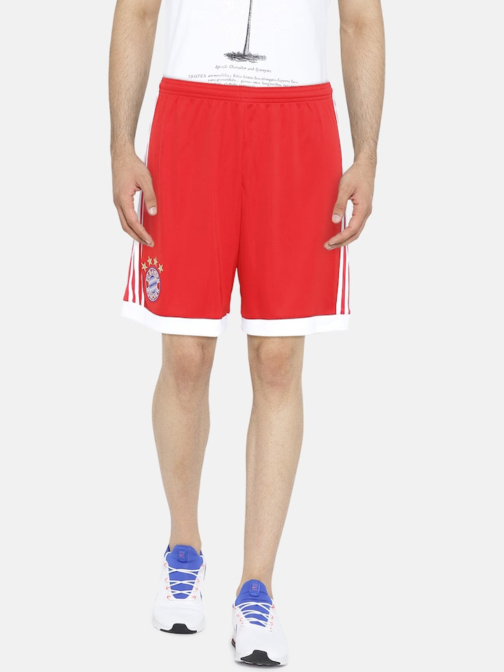 Buy Adidas Men Red F C Barcelona Home Solid Sports Shorts Shorts For Men 2022978 Myntra