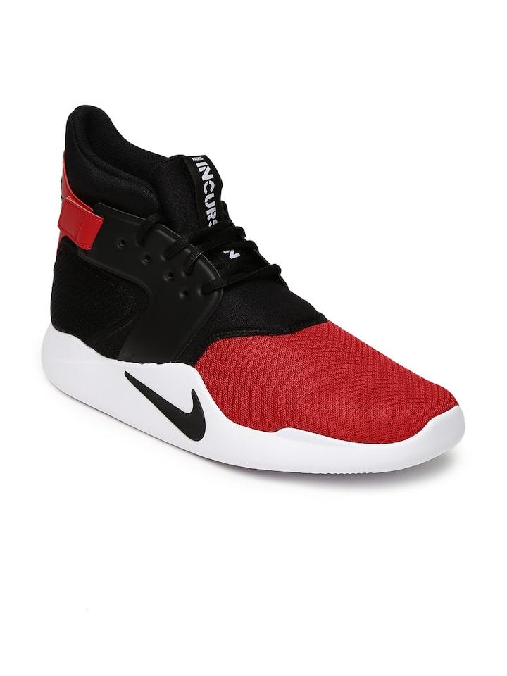 Buy Nike Men Red \u0026 Black Colourblocked