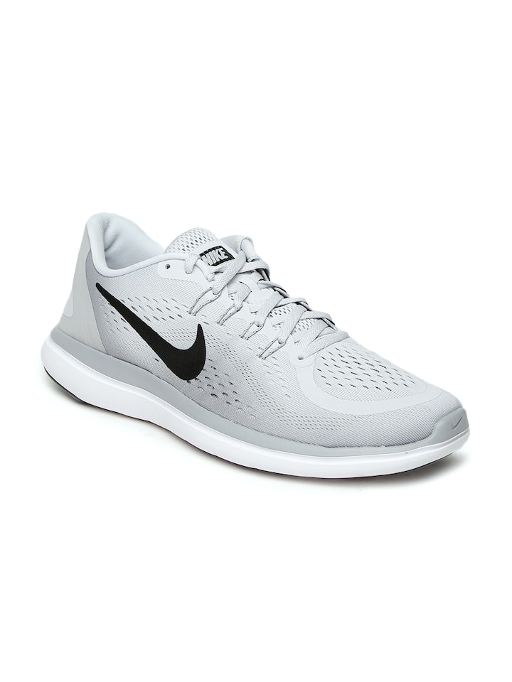 Escribir Repetirse Terminología  Buy Nike Men Grey FLEX 2017 RN Running Shoes - Sports Shoes for Men 2147510  | Myntra