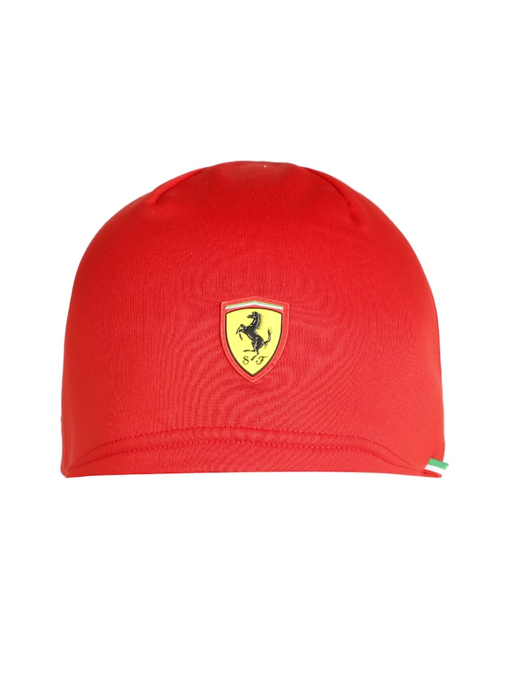 Puma Unisex Red Ferrari Fanwear Beanie