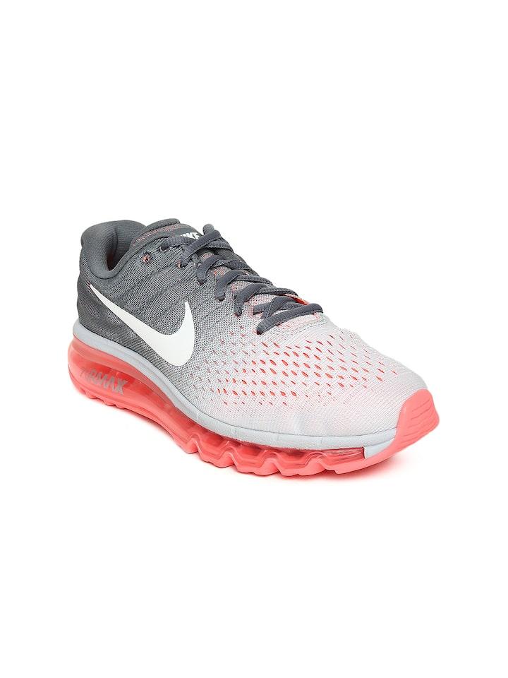 Buy Nike Women White \u0026 Grey AIR MAX