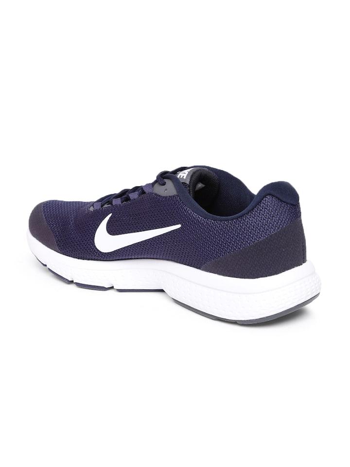 Buy Nike Men Navy Blue RUNALLDAY