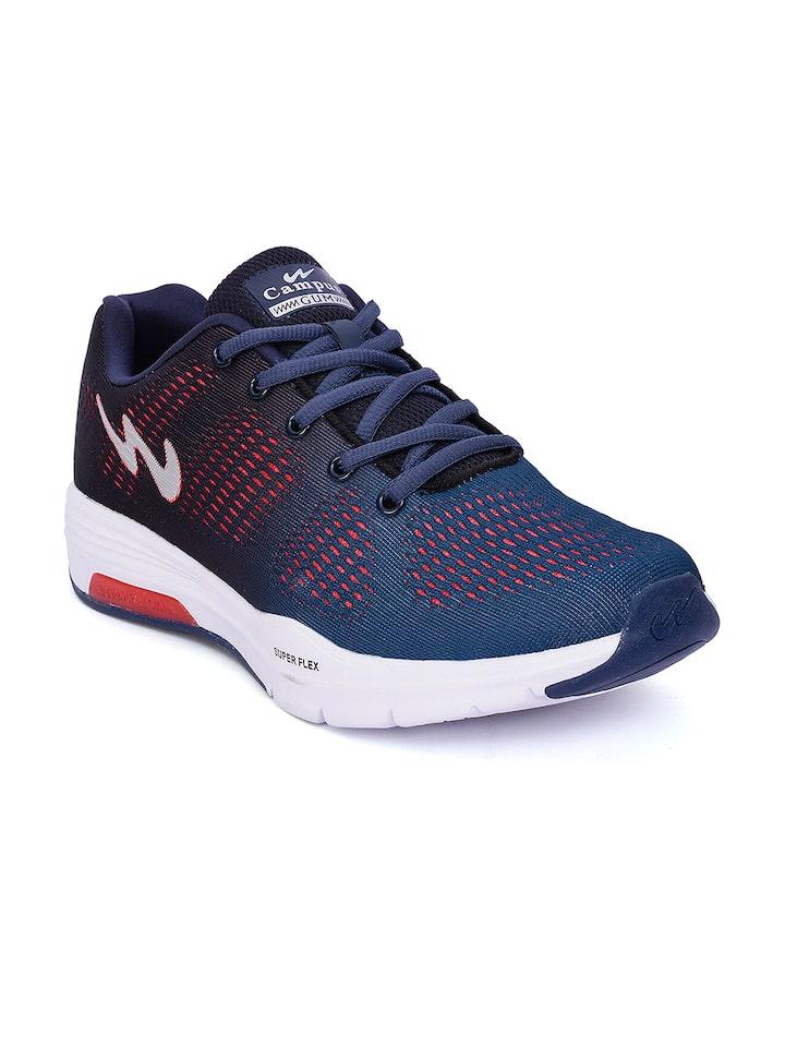Men Navy Blue Running Shoes