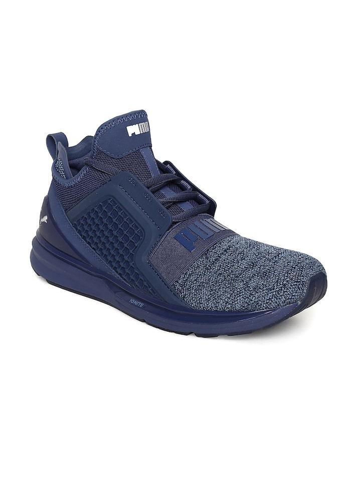 Buy Puma Men Blue IGNITE Limitless Knit