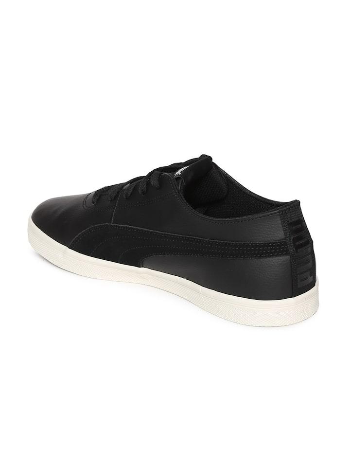Buy Pume Men Black Urban SL SD Sneakers