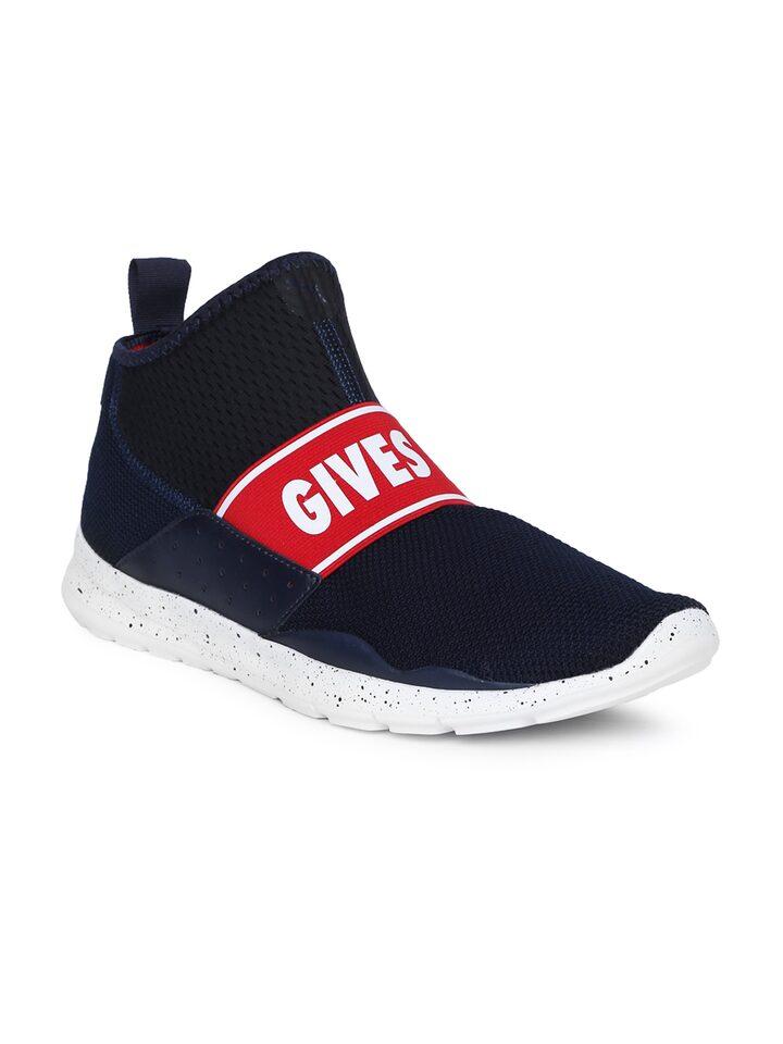 Puma Men Navy & Black Red Bull Racing EVO Slip-on Sneakers