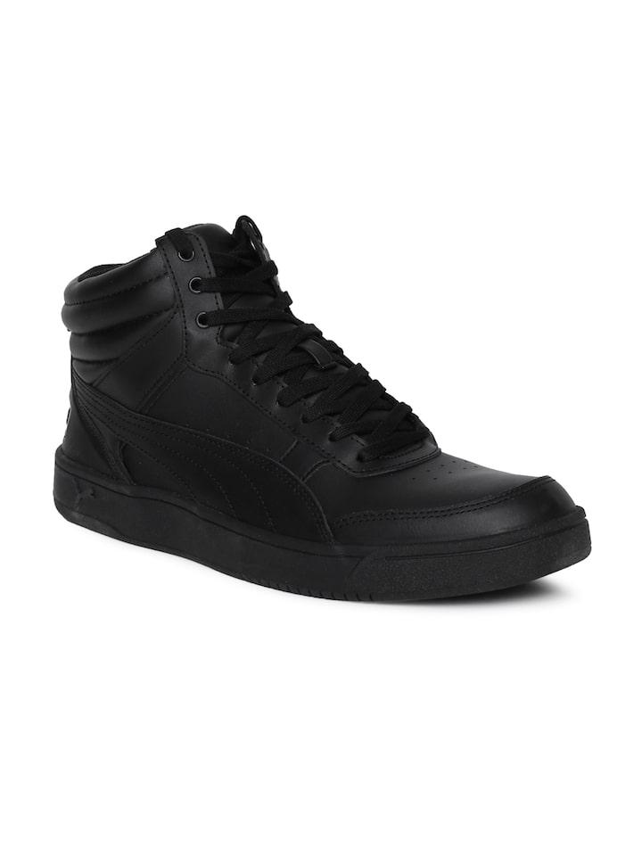 75559f67ad Puma Men Black Rebound Street v2 L IDP Sneakers