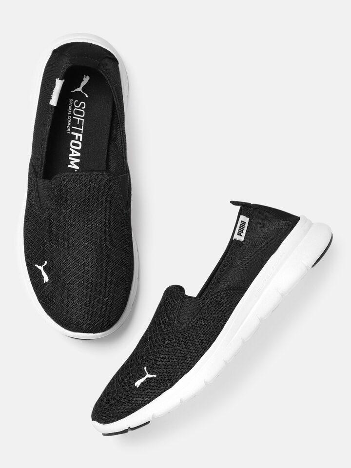 Buy Puma Unisex Black Flex Essential