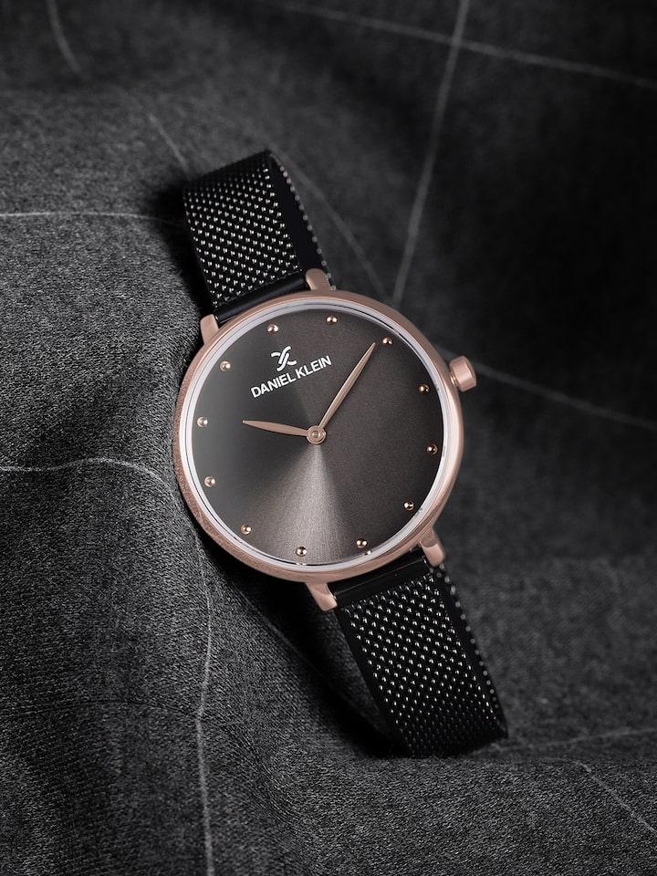 Buy Daniel Klein Women Black Analogue Watch DK11421 5 - Watches for Women  2466435 | Myntra
