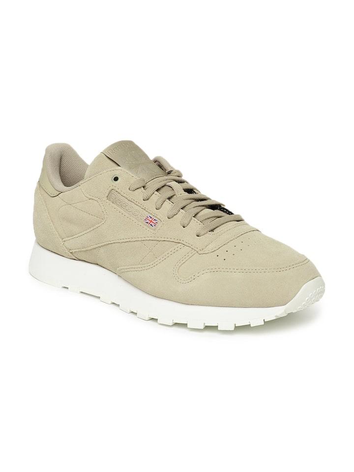 Oposición incompleto Descanso  Buy Reebok Classic Men Beige CL Suede MCC Sneakers - Casual Shoes for Men  4268706 | Myntra