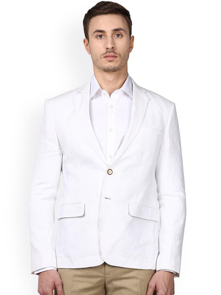 Smart Casual Linen Blazer