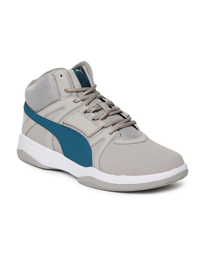 Buy Puma Men Grey Rebound Street Evo SL