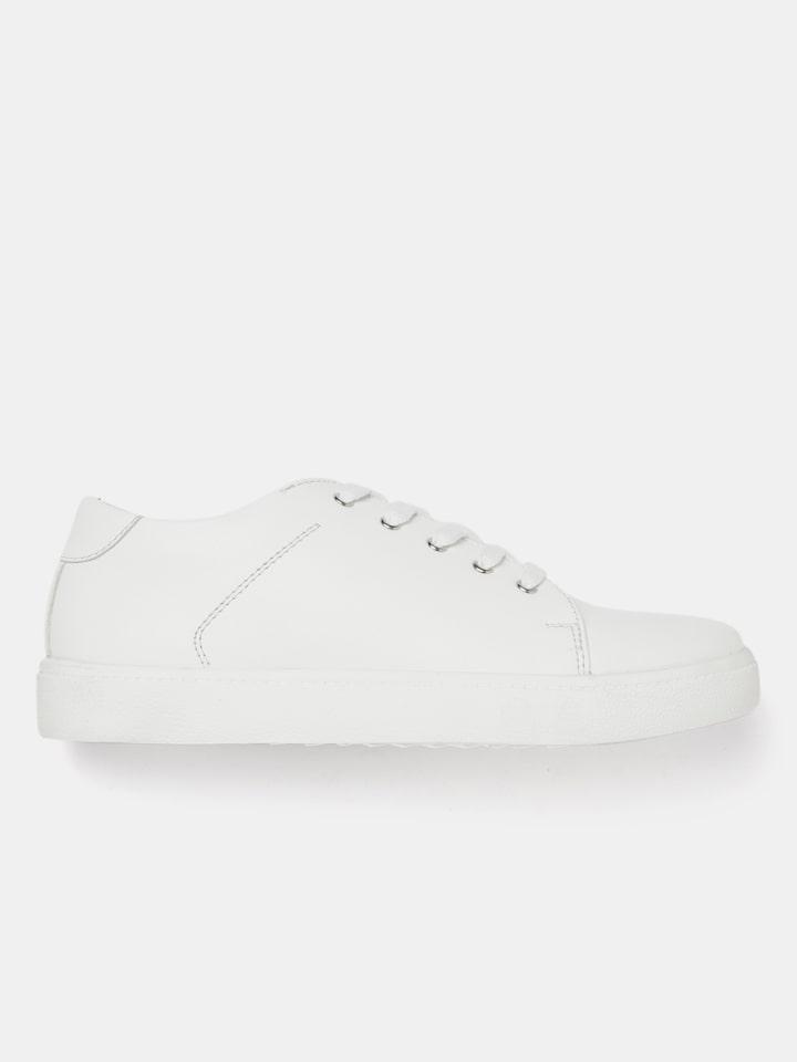 Buy Roadster Women White Sneakers