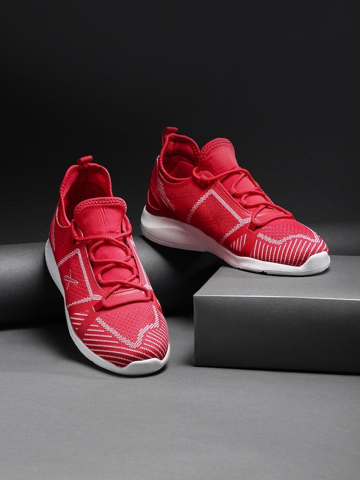 Hrithik Roshan Men Red Running Shoes