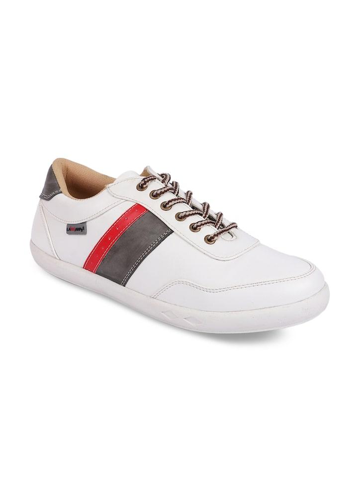 Buy Lawman Pg3 Men White Sneakers