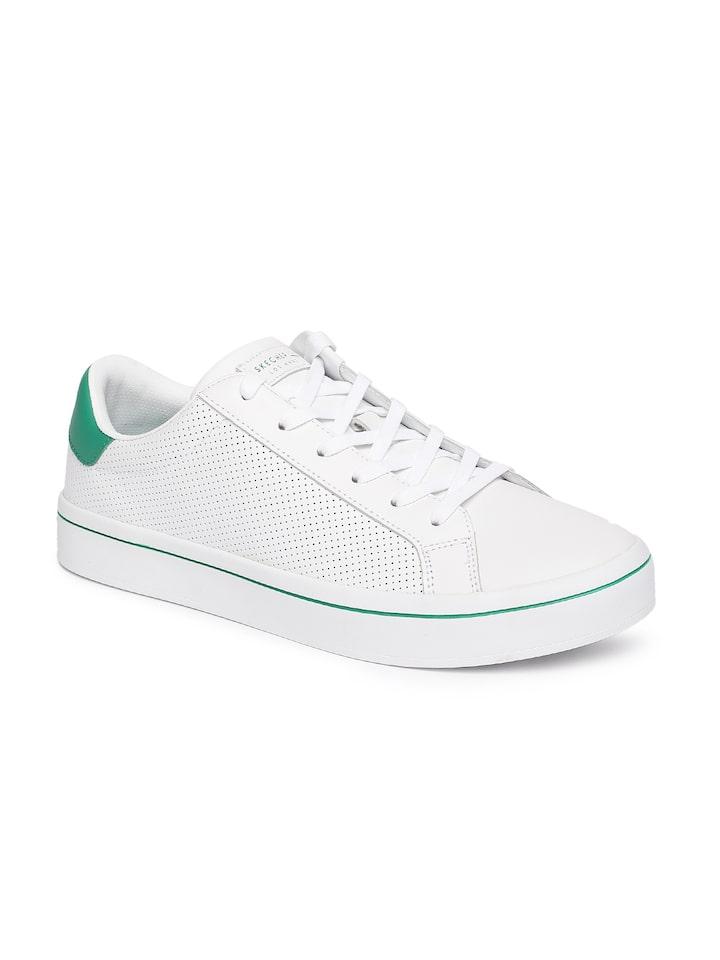 Buy Skechers Men White Sneakers