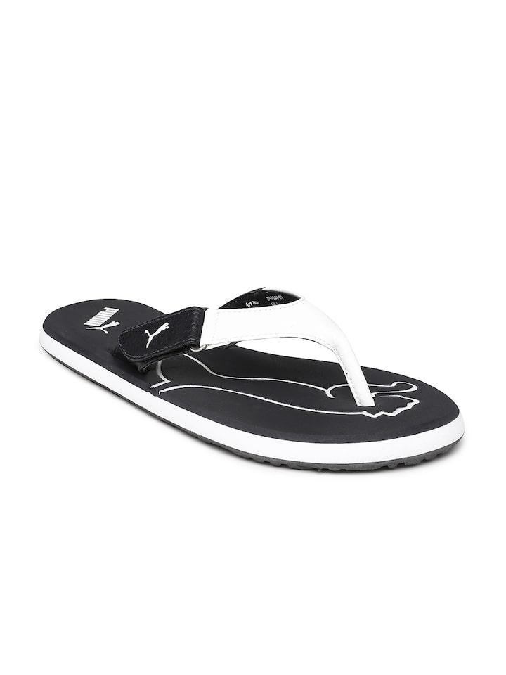 Buy Puma Men Black \u0026 White Breeze V