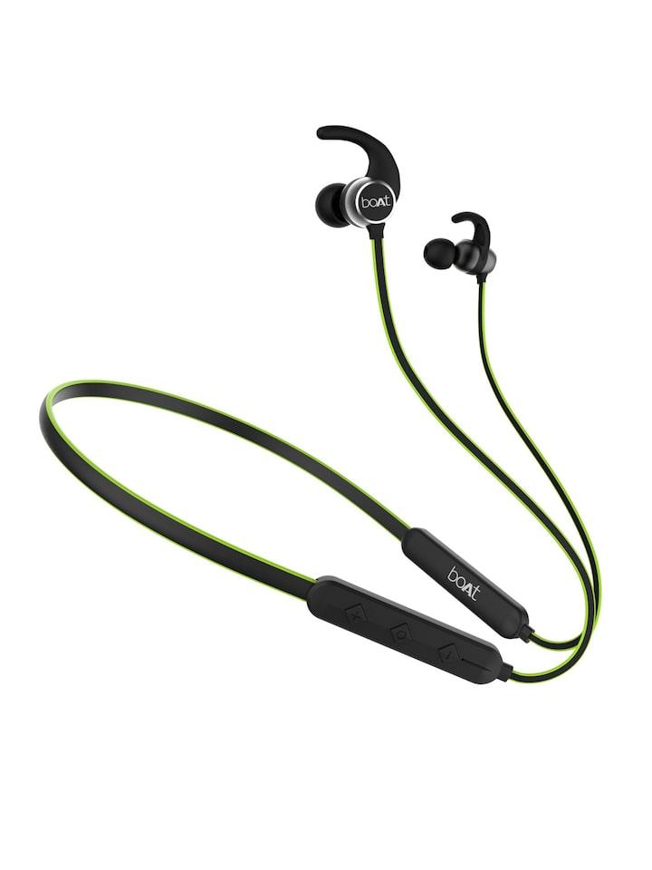 Buy Boat Rockerz 255 Neon Unisex Green Wireless Bluetooth In Ear Headphones With Mic Headphones For Unisex 6794718 Myntra
