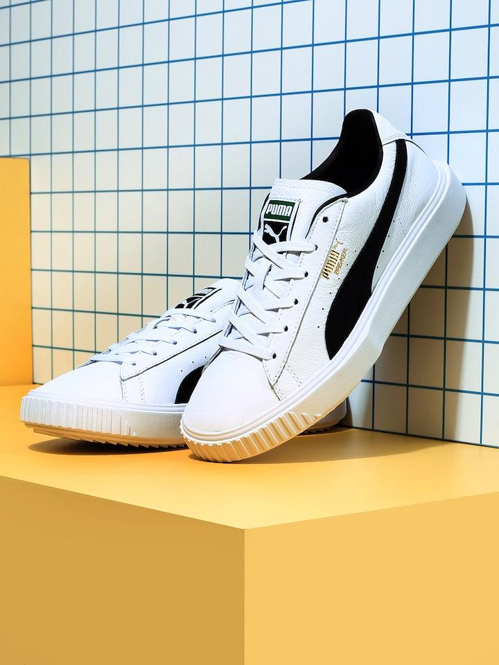 Buy Puma Men White Breaker Leather