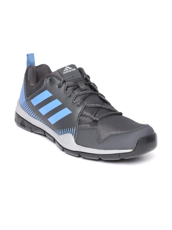 Buy ADIDAS Men Charcoal Grey Tell Path