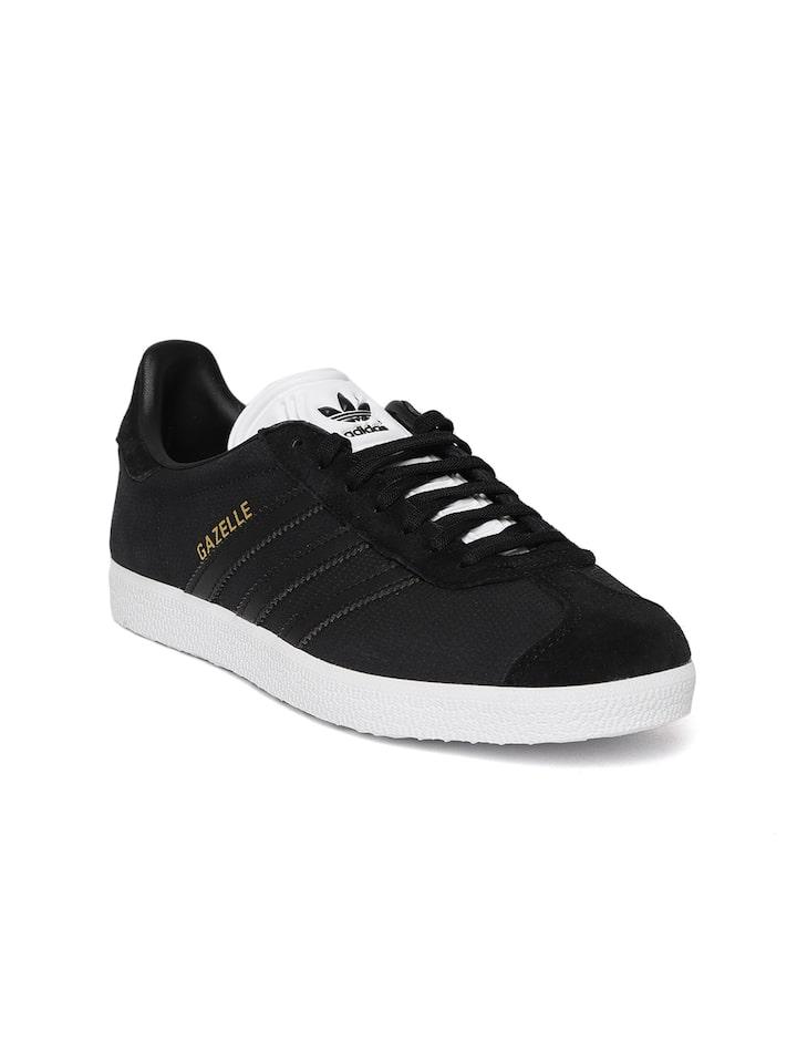 gazelle adidas black womens