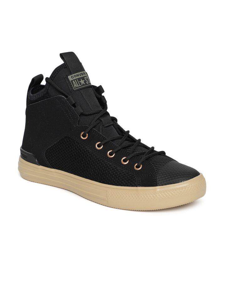 Buy Converse Unisex Black 161475C Mid