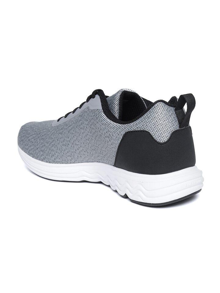 Buy Reebok Men Grey \u0026 Black Avid Runner