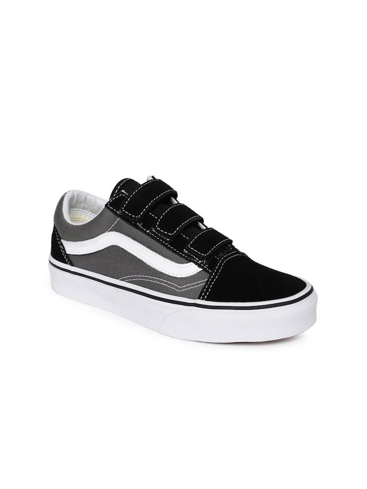 Buy Vans Unisex Black \u0026 Grey Old Skool