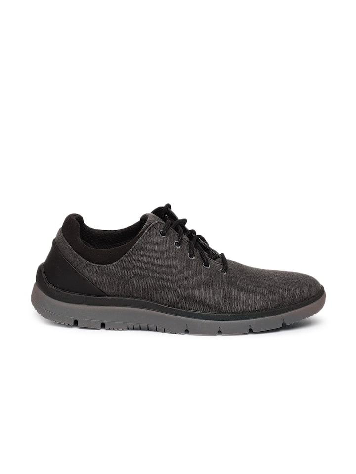Refrigerar nacionalismo Entender mal  Buy Clarks Men Charcoal Tunsil Ace Sneakers - Casual Shoes for Men 7713796  | Myntra