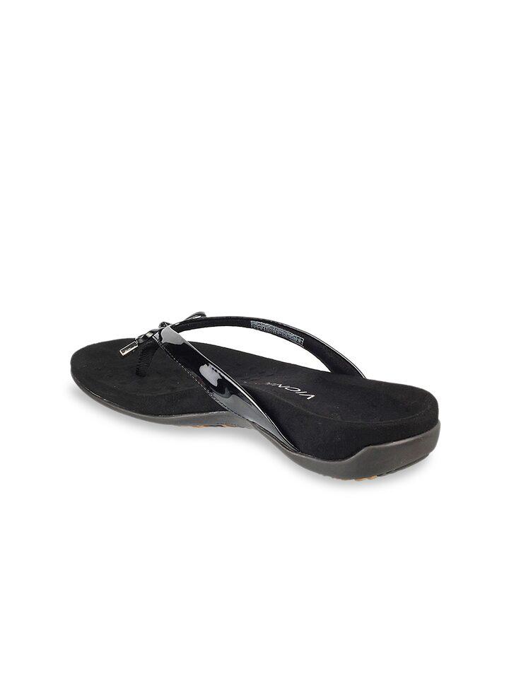 Buy VIONIC Women Black Solid Open Toe
