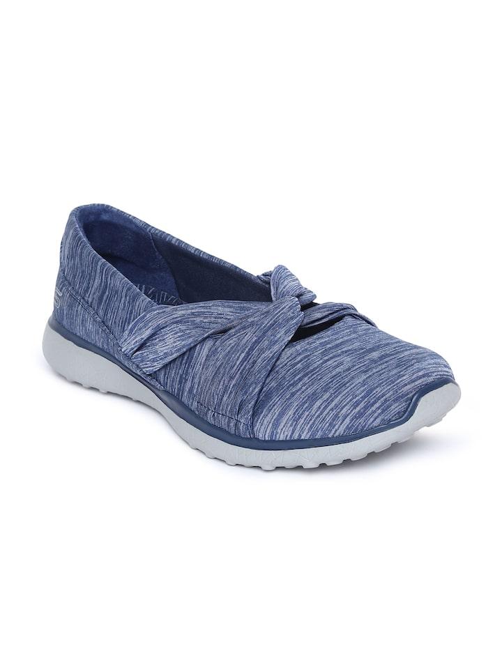 Buy Skechers Women Blue Microburst Knot