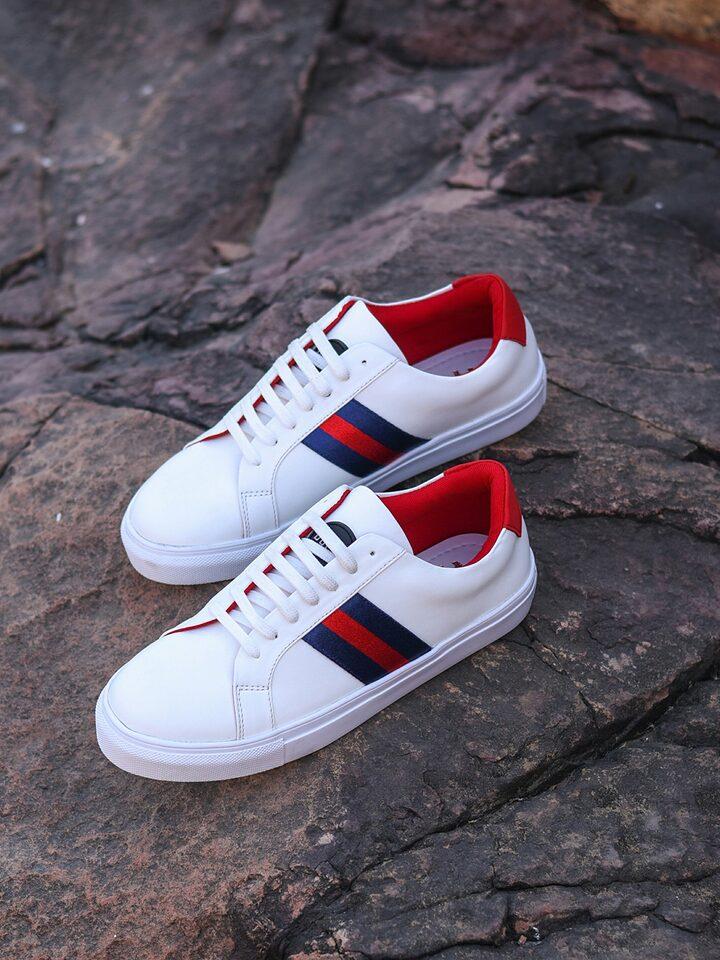 Buy Doc Martin Men White Sneakers