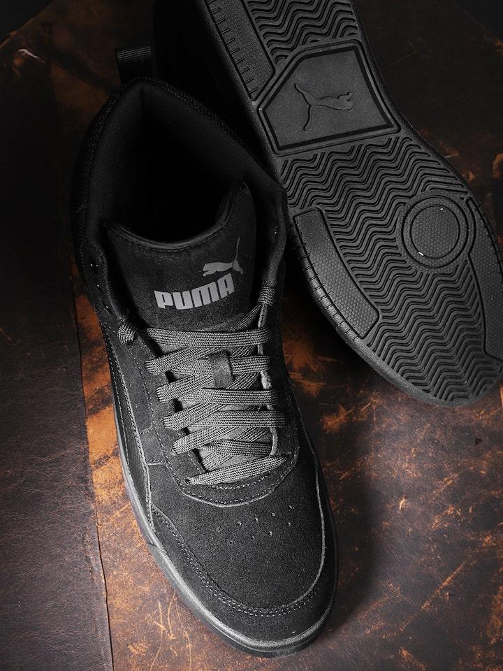 Buy Puma Unisex Black Rebound Street V2