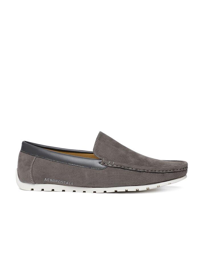 Buy Aeropostale Men Grey Loafers