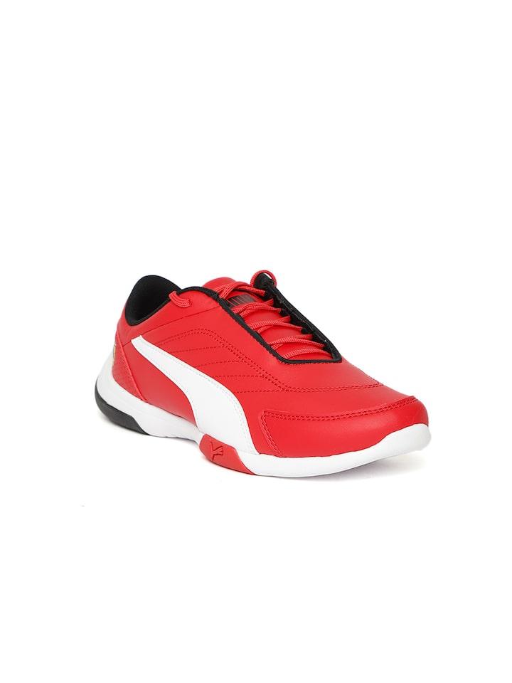 Buy Puma Kids Red \u0026 White SF Kart Cat