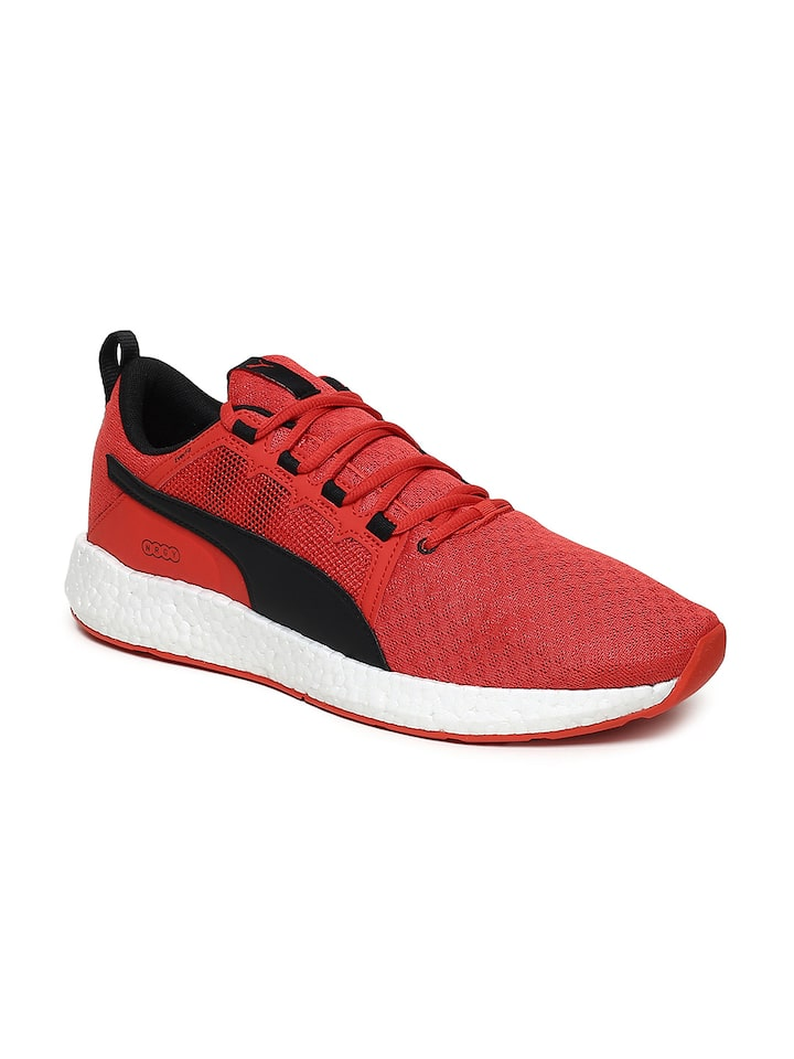 Puma Men Red NRGY Neko Turbo Running Shoes