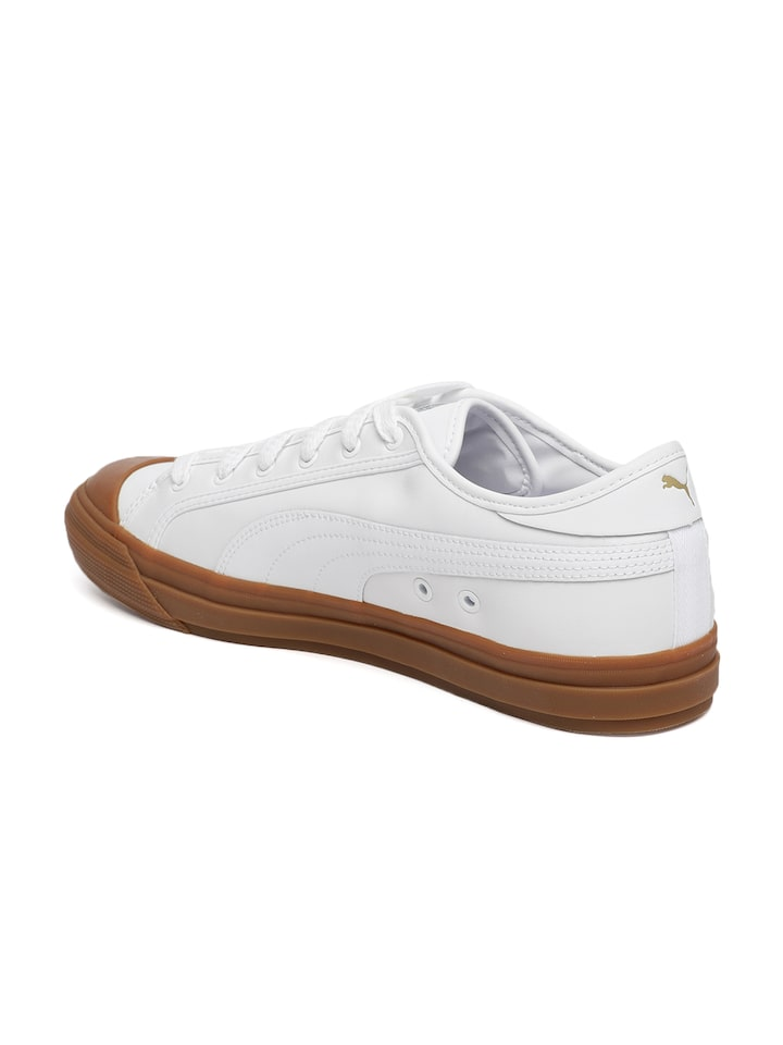 Buy Puma Unisex White Capri Leather