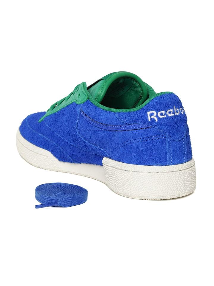 Buy Reebok Classic Unisex Blue \u0026 Green