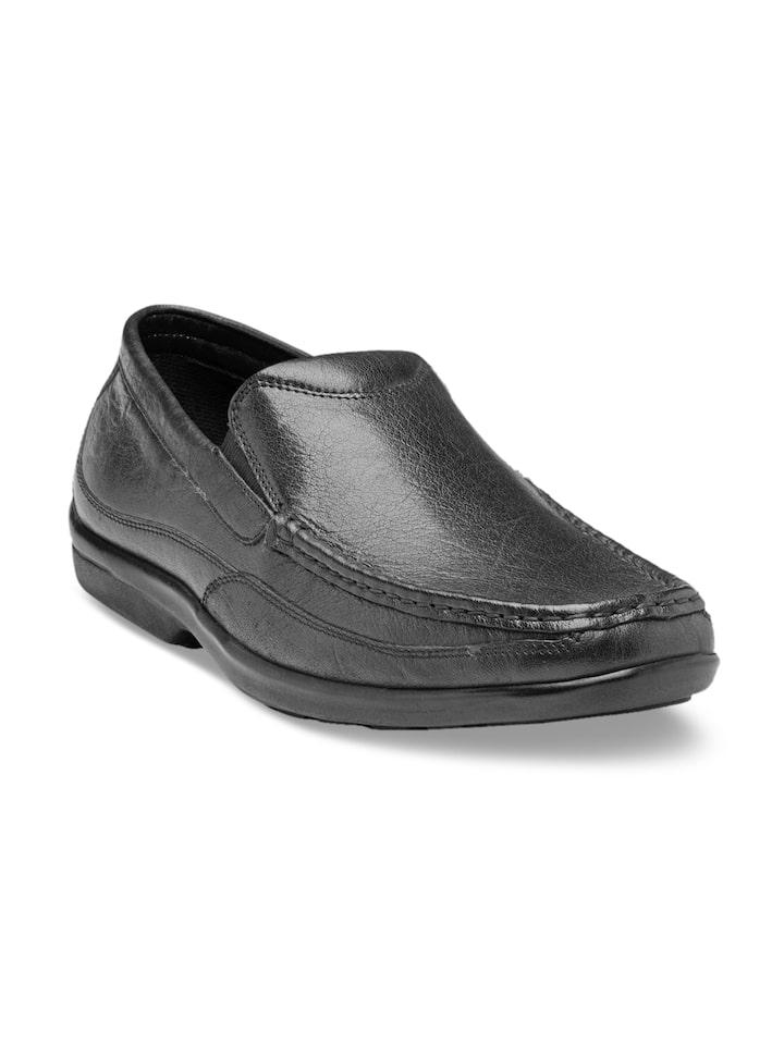 Buy Franco Leone Men Black Leather
