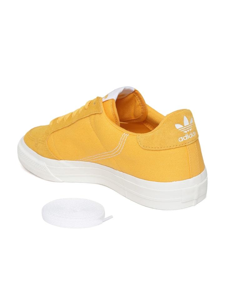 Buy ADIDAS Unisex Mustard Yellow