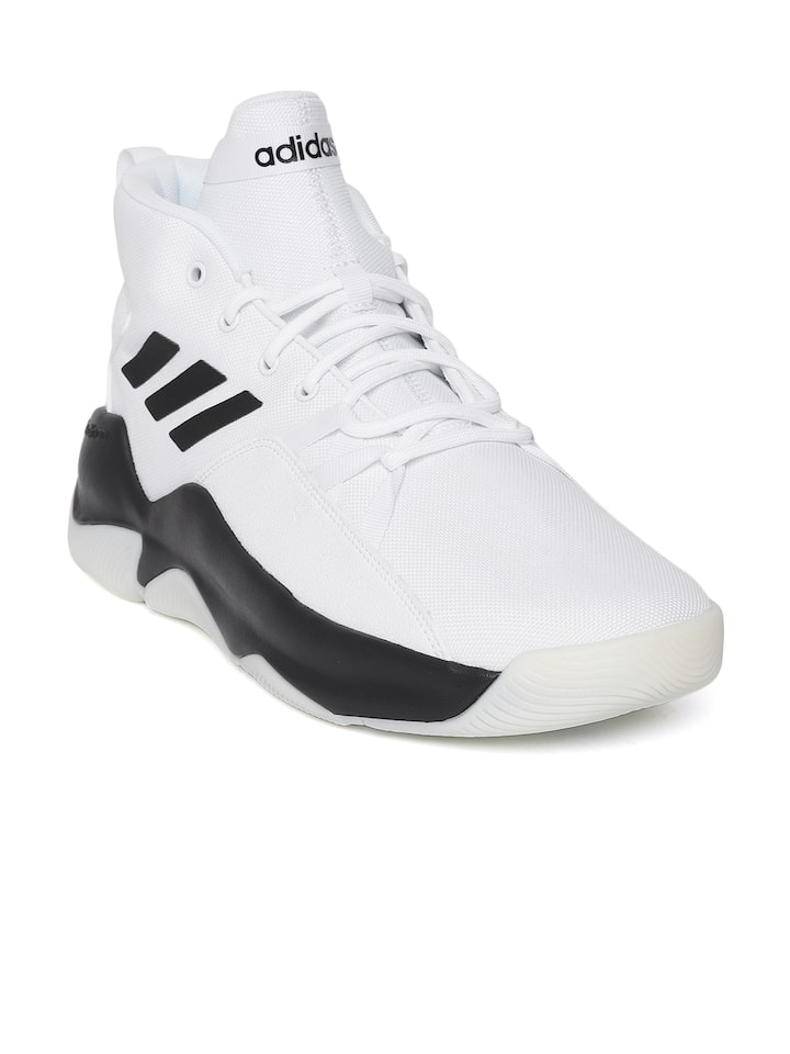 Buy ADIDAS Men White \u0026 Black Streetfire