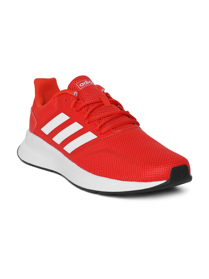 Buy ADIDAS Men Red Falcon Running Shoes - Sports Shoes for Men ...